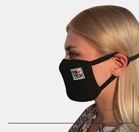 Трехслойная маска для лица